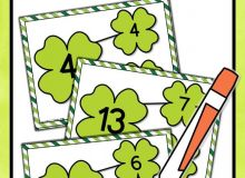 St Patrick S Day Activities Number Bonds to 20 Missing