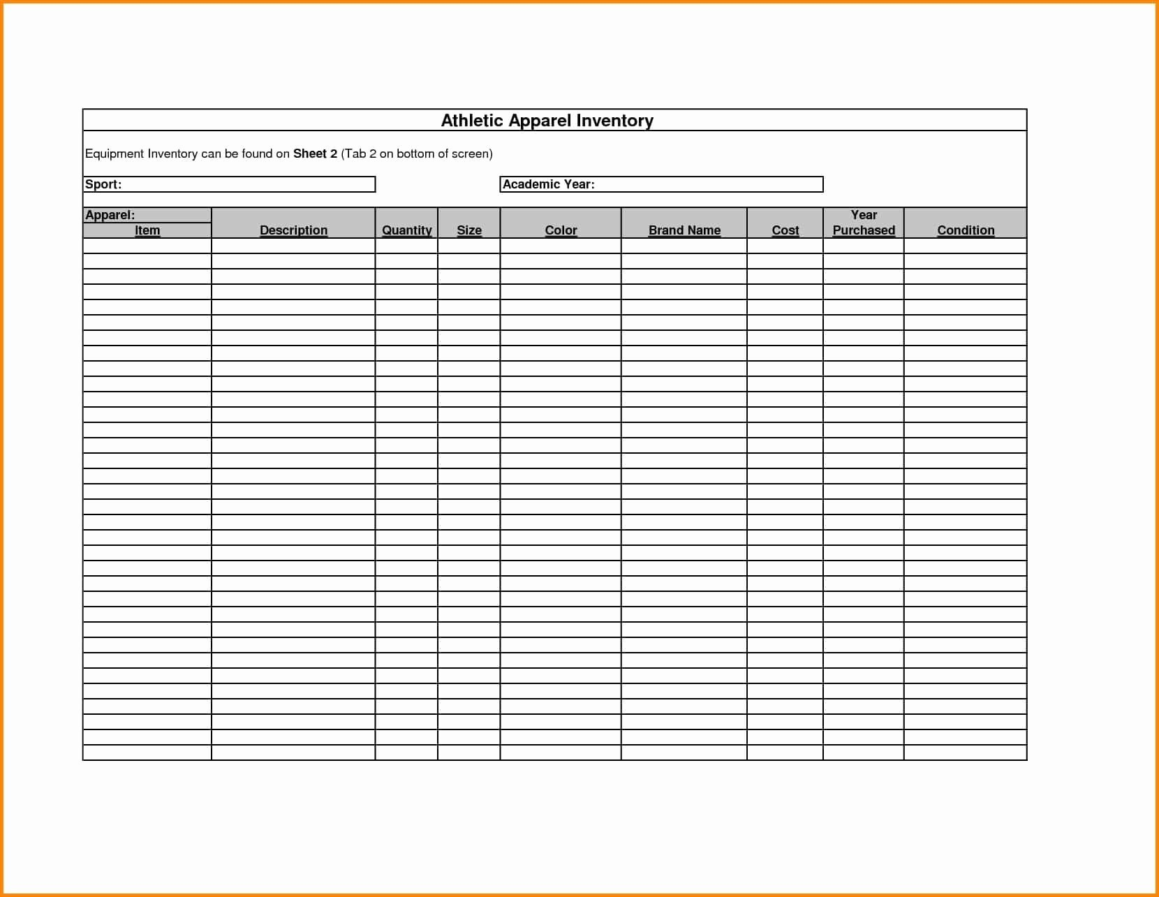 Stock Ledger Template Professional Templates