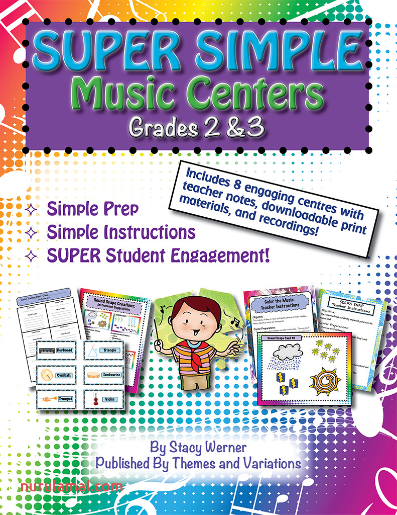 Super Simple Music Centers Book Cover 800x