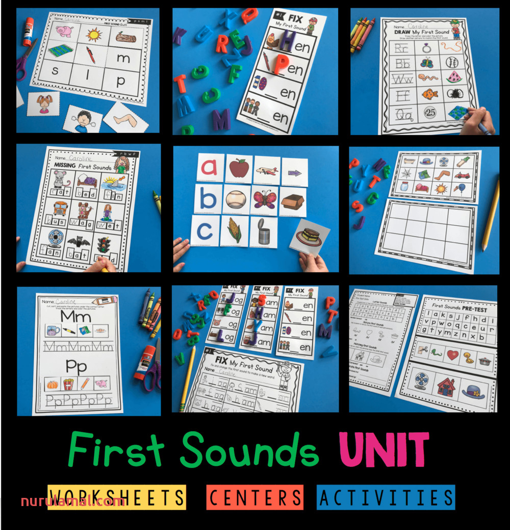 free phonics worksheets kindergarten first grade