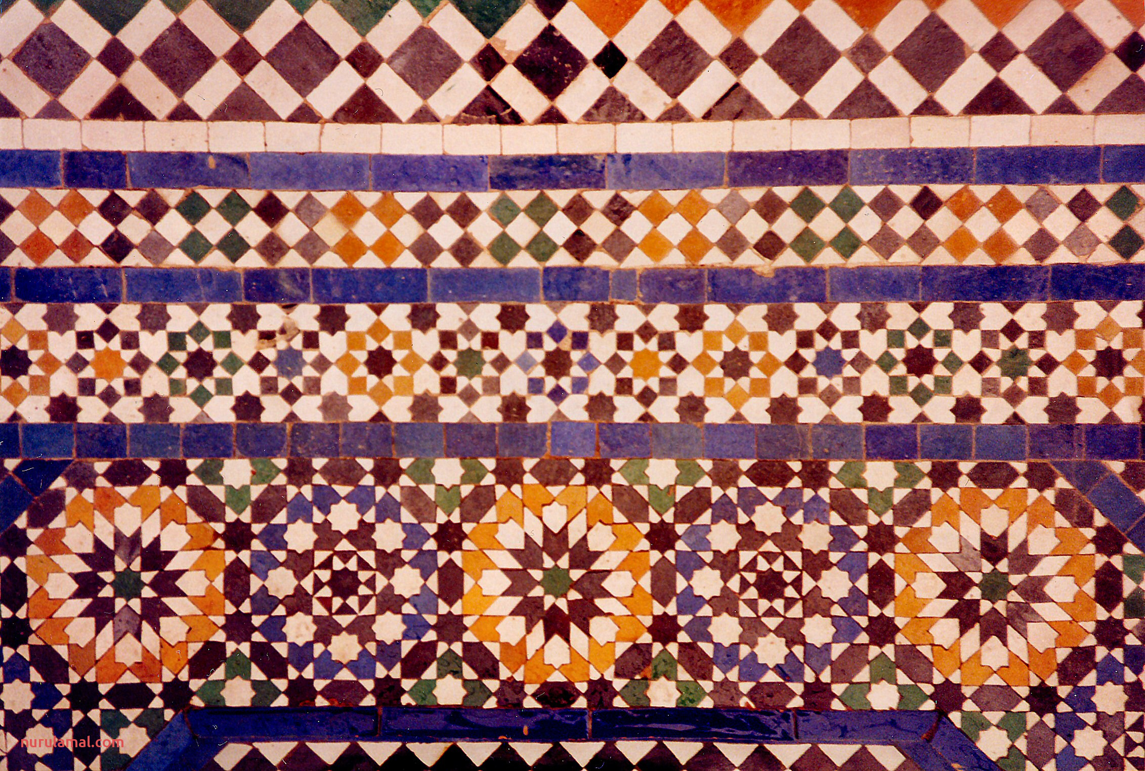 Ceramic Tile Tessellations in Marrakech