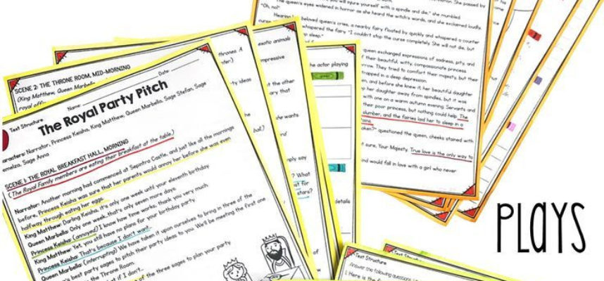 Text Structure In Stories Poems and Plays 4th Grade Rl 4 5