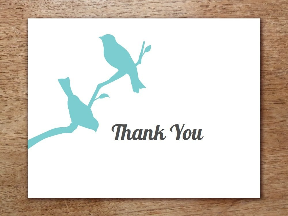 Thank You Card Templates Word Excel Pdf Templates