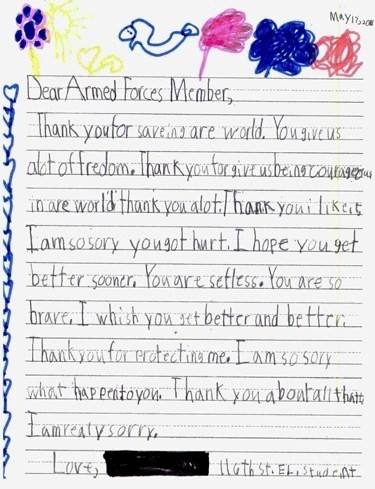 Thank You Letters For Veterans Letter Of Recommendation