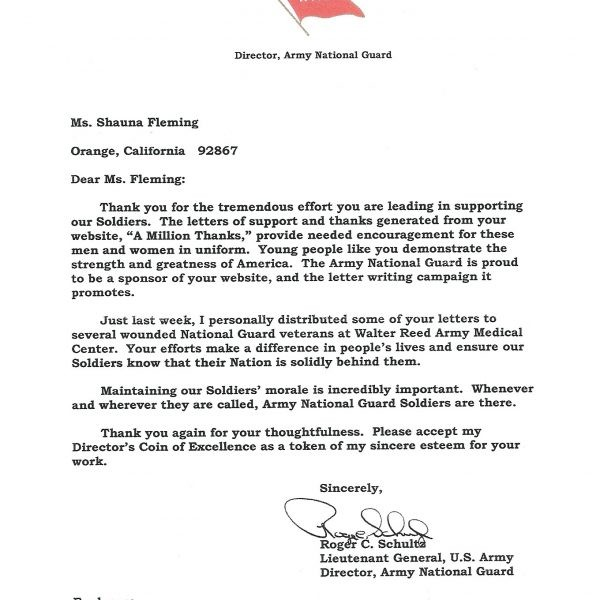 Thank You Letters To Veterans Examples Cover Letter
