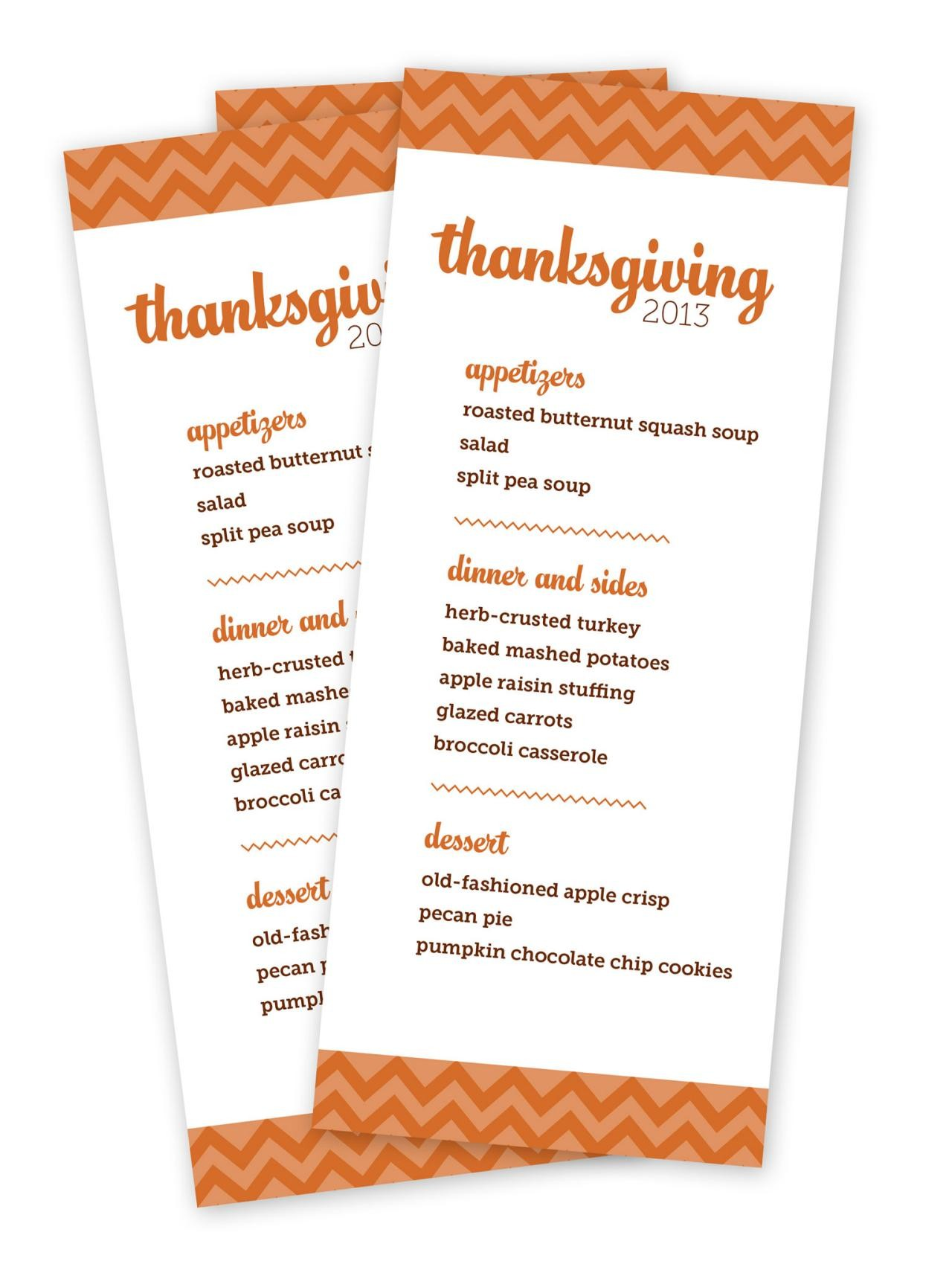 Thanksgiving Menu Templates With Words Happy Easter