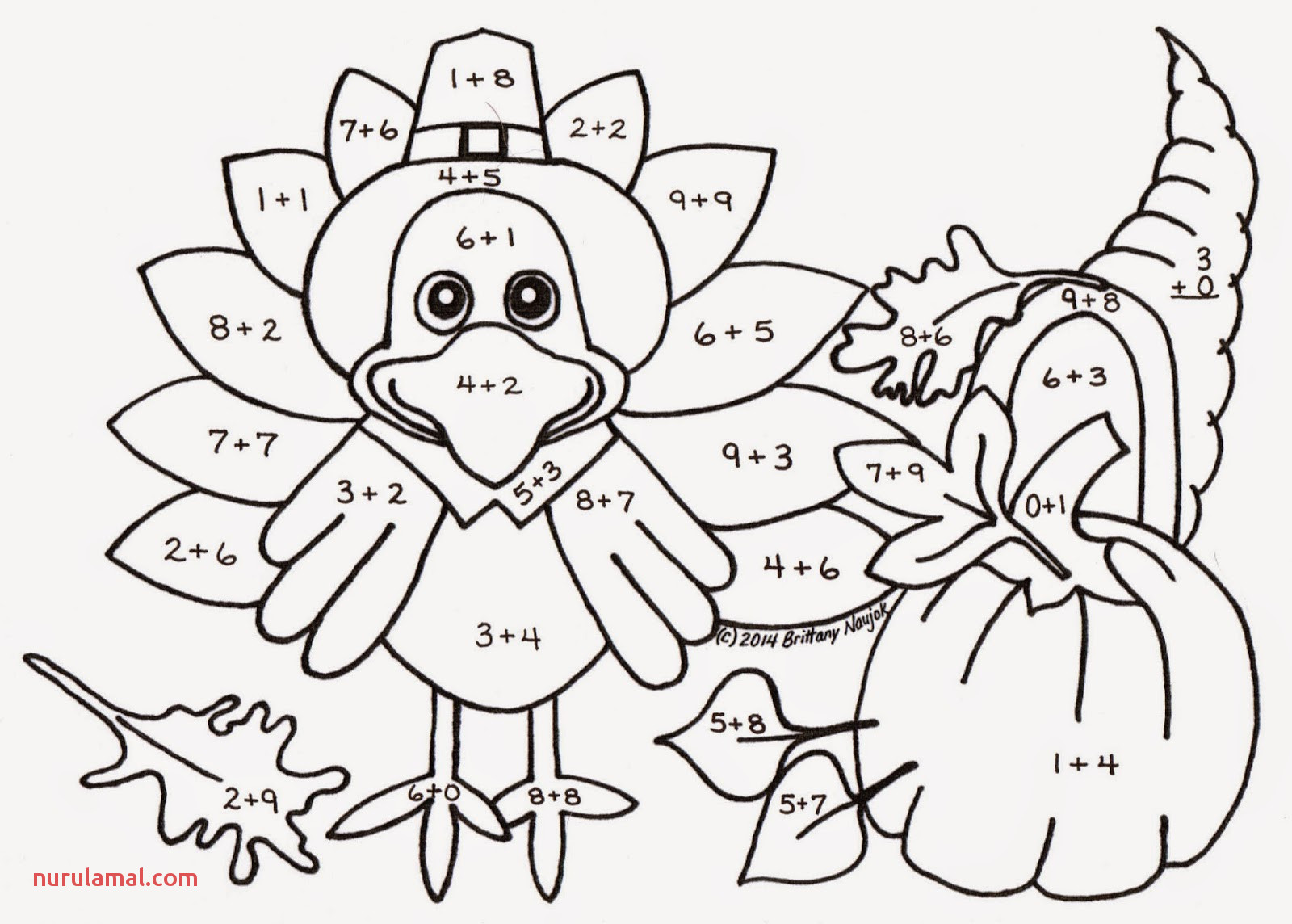 Thanksgiving Table Coloring Page at Getdrawings