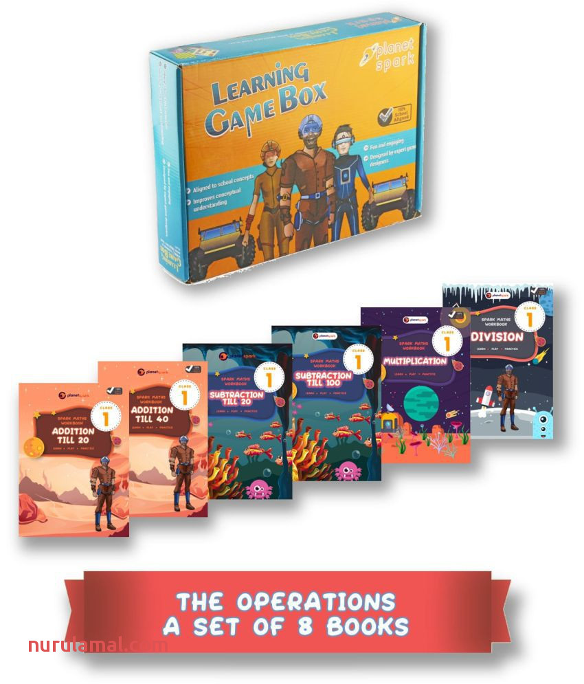 The 4 Operations Bundle Addition Subtraction Multiplication Division Set Of 8 Detailed Fun Maths Worksheets Class 1 Ages 5 7 Loved by Kids