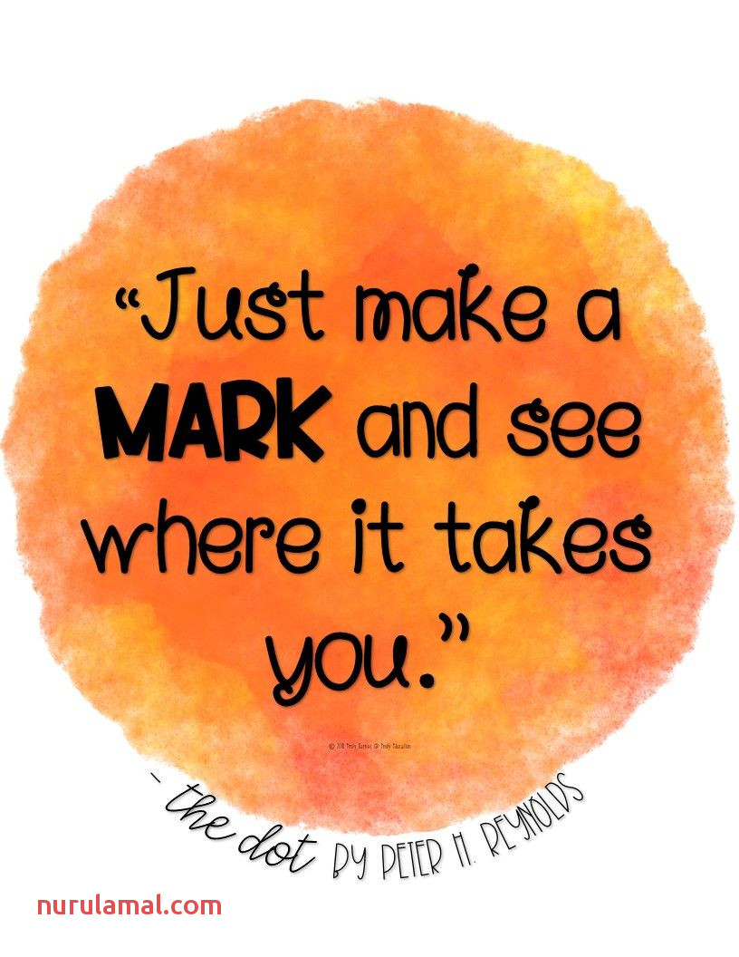 The Dot Inspirational Quote Poster