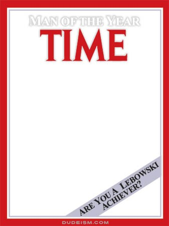 The Gallery For Time Magazine Cover Template