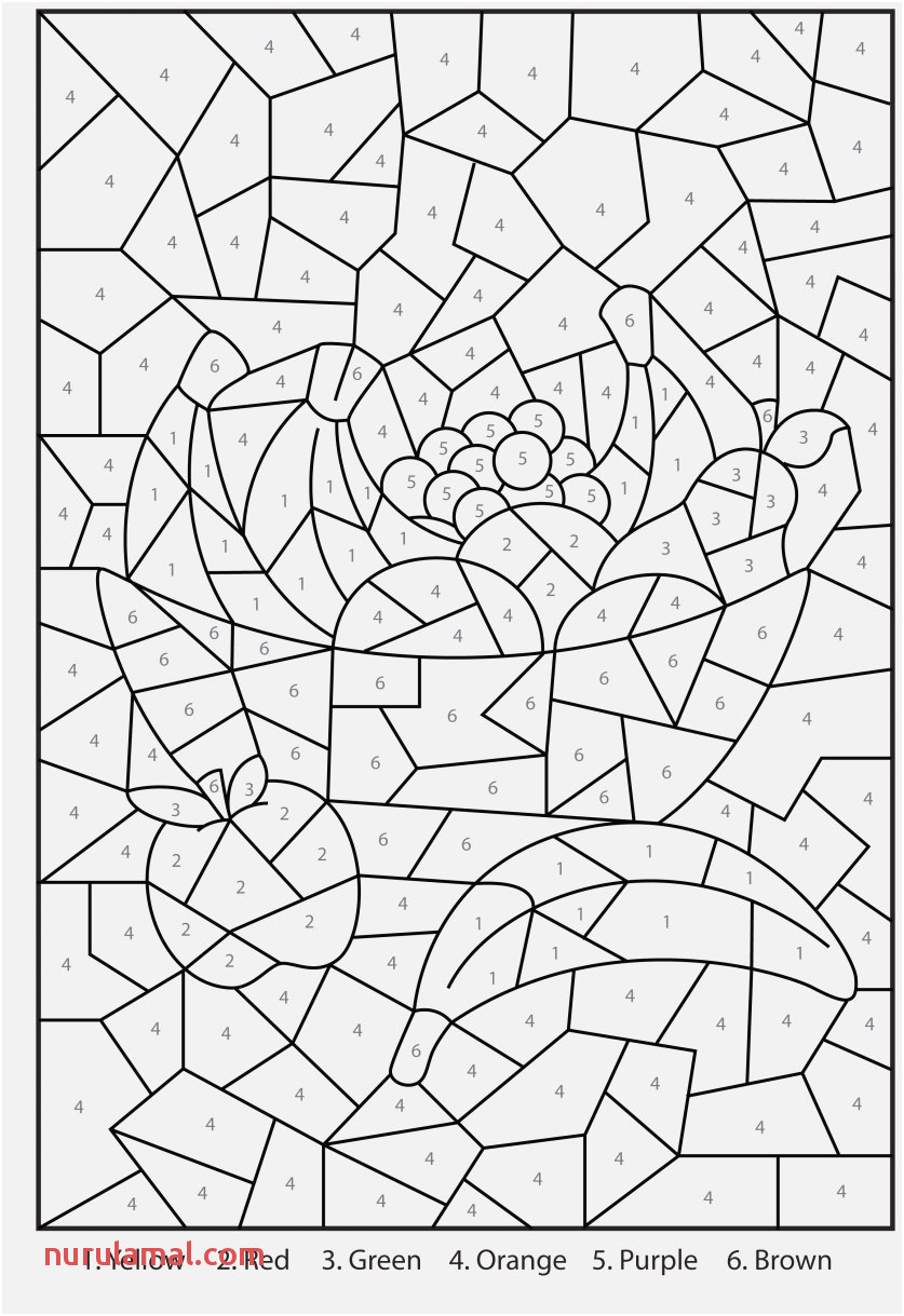 The Perfect Pic Fall Coloring Pages Color by Number top