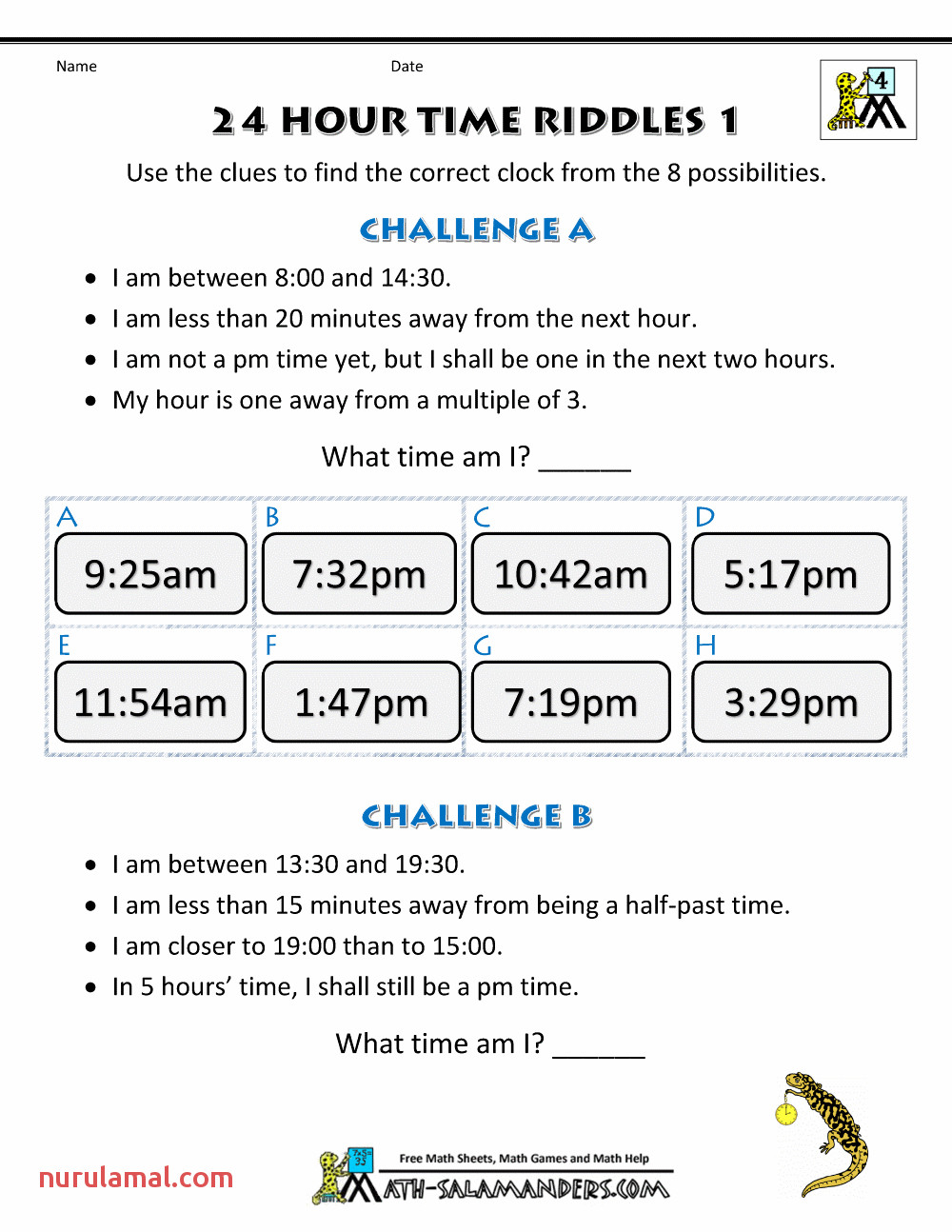 24 hour time riddles 1