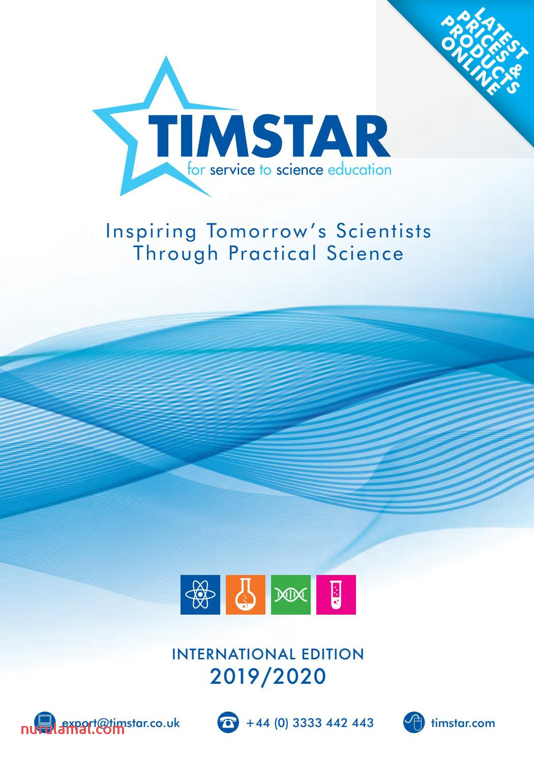 Timstar International Catalogue 2019 2020 by Wf Education