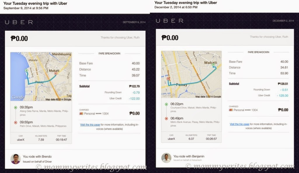 Uber Manila Smooth Rides Personal Drivers And Cashless