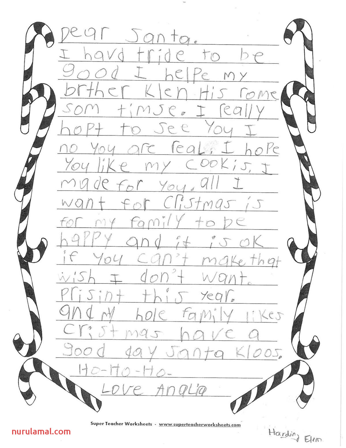 Updated Region Kids Share their Letters to Santa
