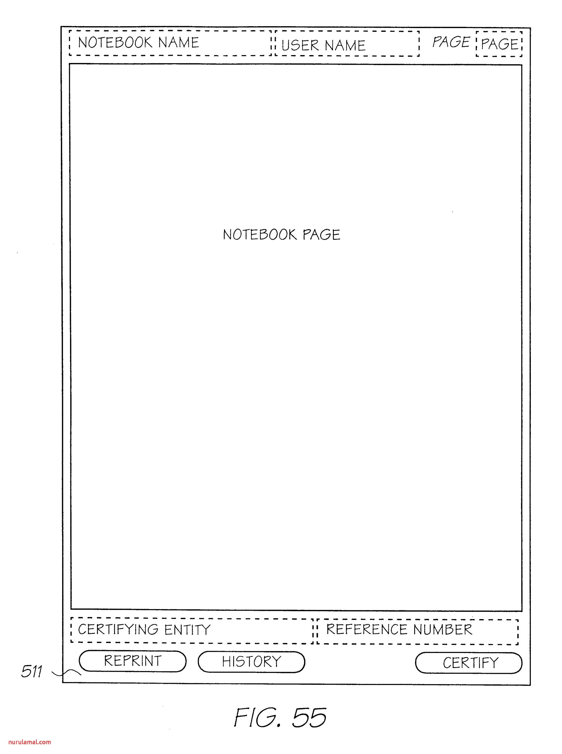 Us B2 Method and System for Note Taking Using A form