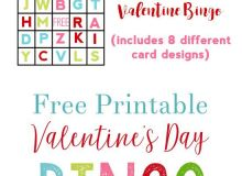 Valentine S Activities for Preschoolers Alphabet Bingo Free