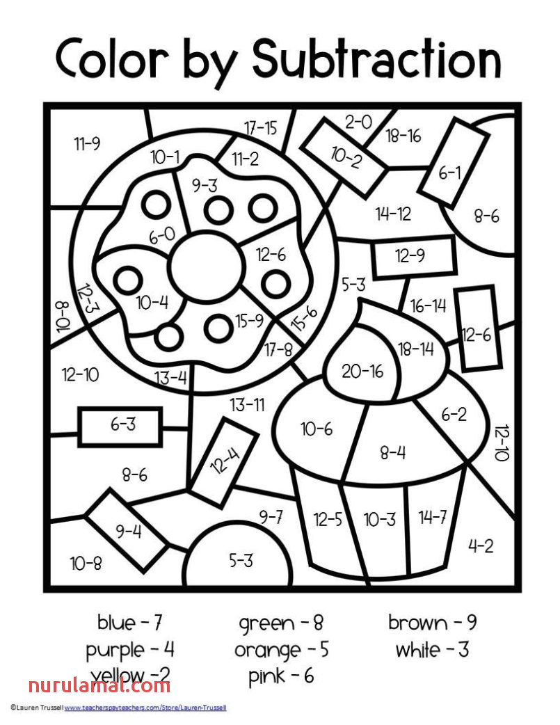 color by number worksheets subtraction 2nd free math grade coloring sheets for printable addition second 805x1042 adding powers maths simple linear equations questions practice greater than