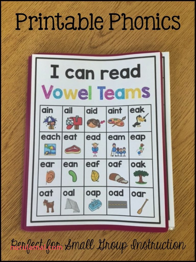 Vowel Teams Printable Intervention Sarah S Teaching Snippets