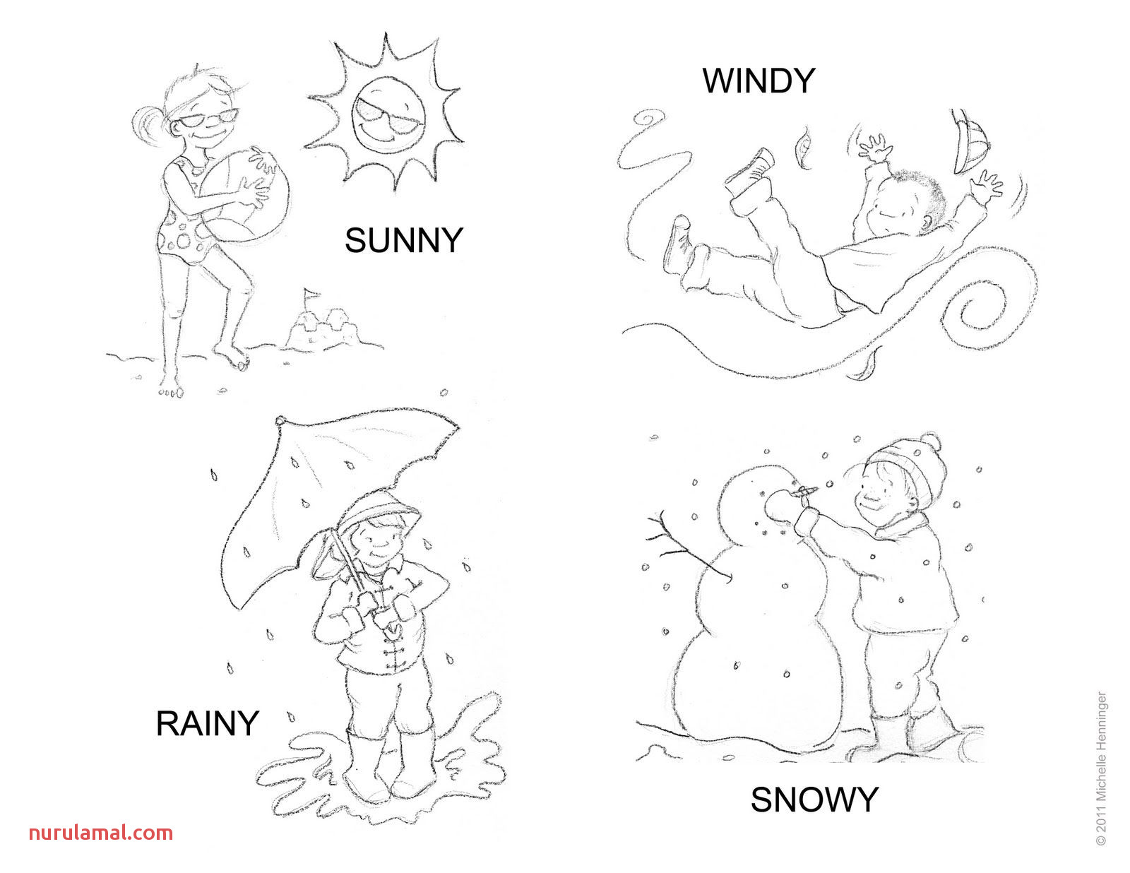 Weather Worksheet New 607 Weather Printable Book