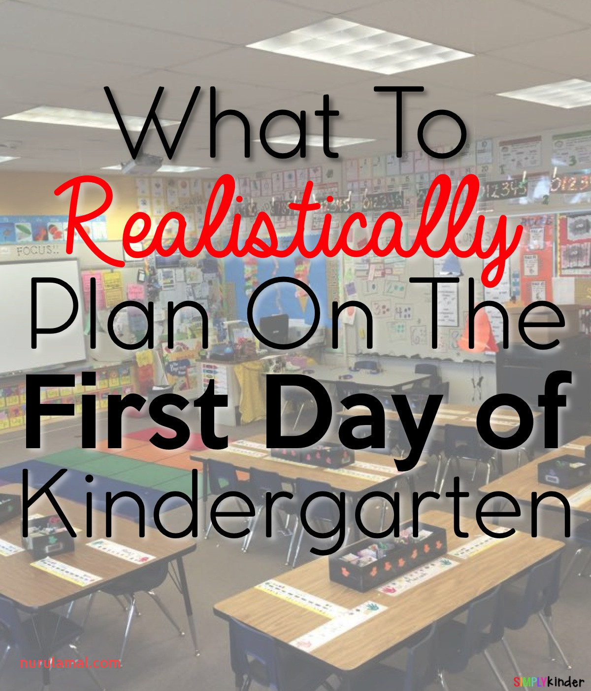 What to Plan On the First Day Of Kindergarten Simply Kinder