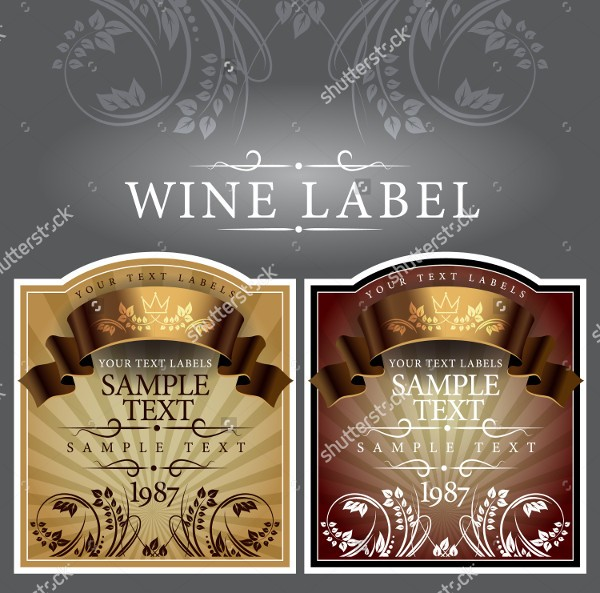 Free Wine Label Template Download