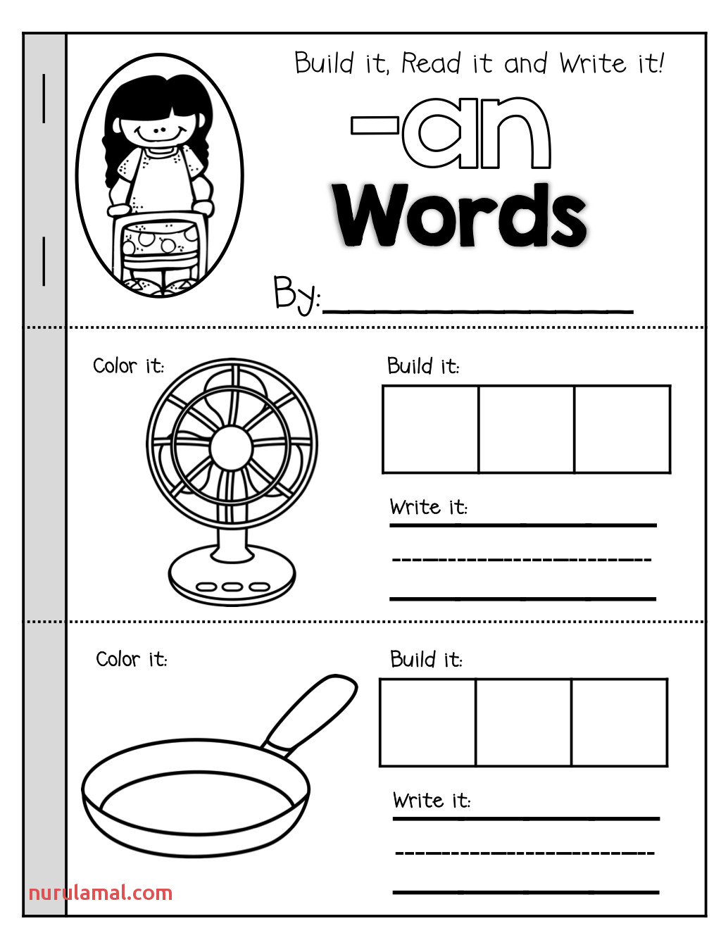 Word Family Booklets Keend7