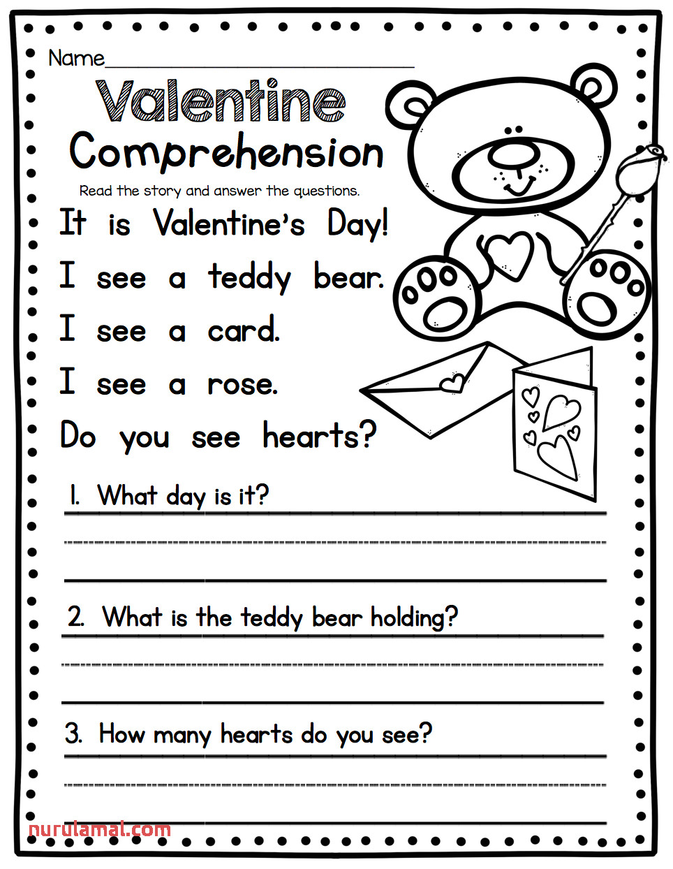 Worksheet Ideas 1st Grade English Worksheets Valentine