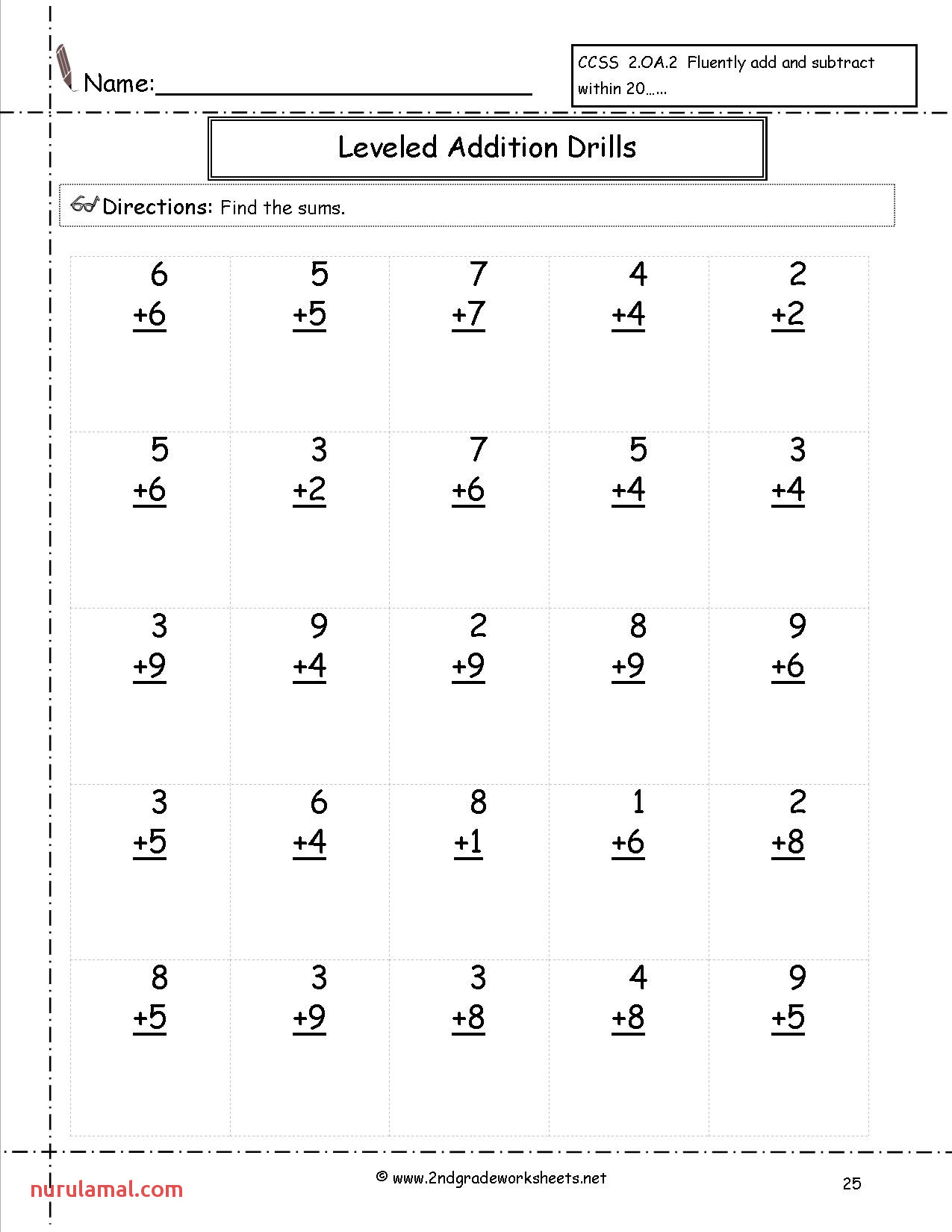 Worksheet Ideas 2nd Grade Mental Math Worksheets Worksheet