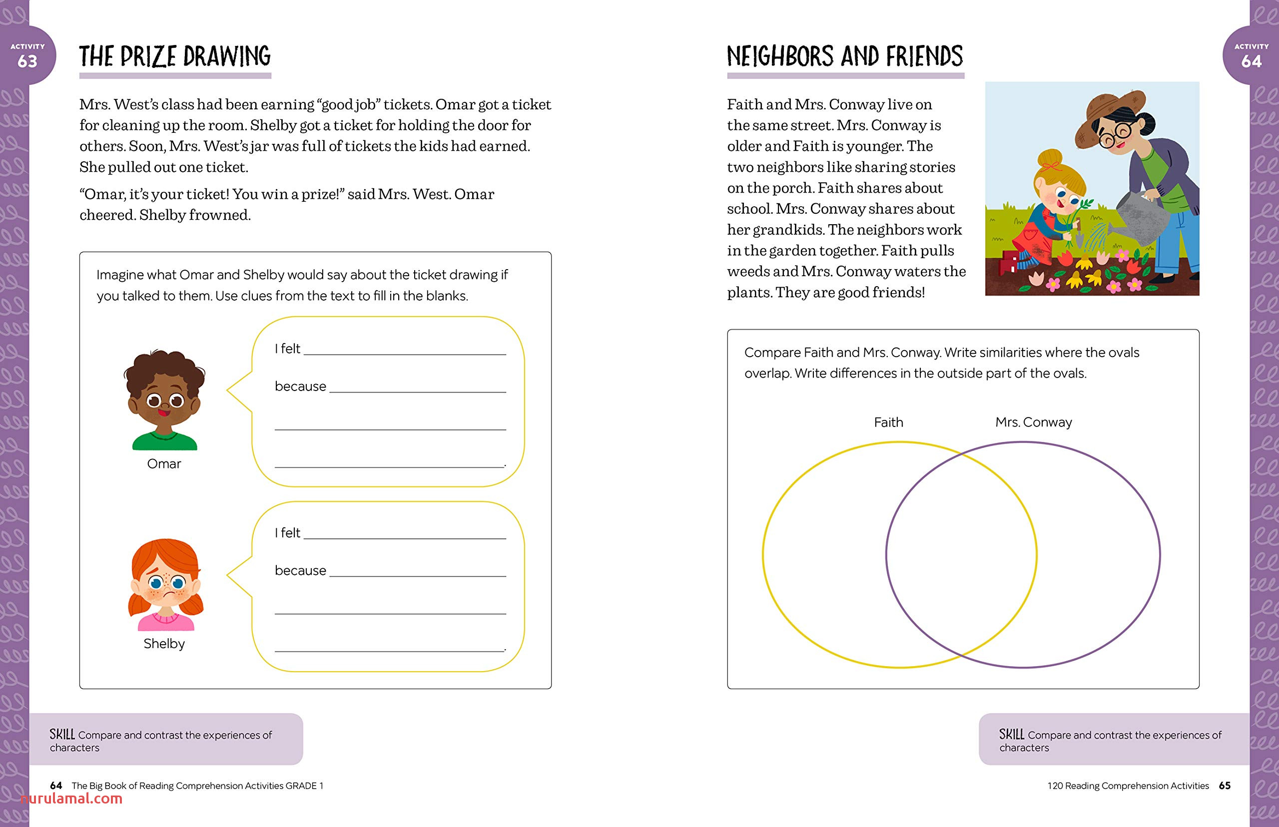 Worksheet Ideas Answers Reading Prehension Stories for