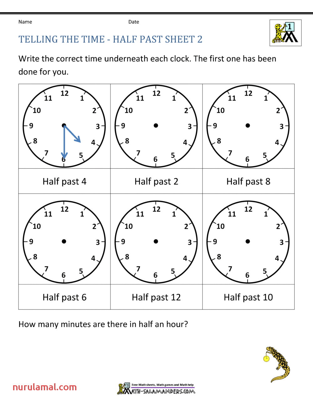 telling time worksheets oclock and half past awesome grade image ideas worksheet first math