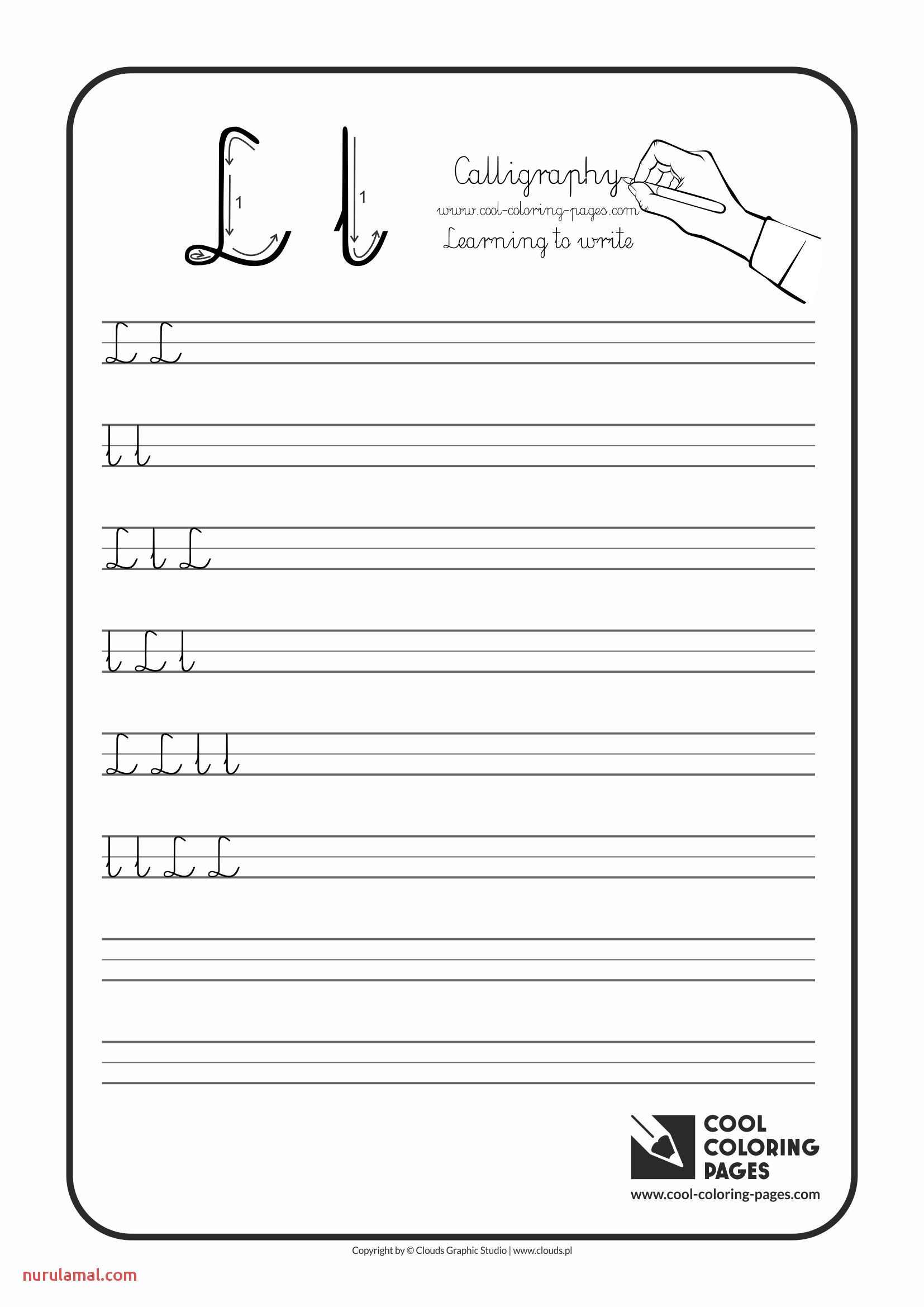 letter l worksheets for preschoolers free worksheet ideas cool coloring pages calligraphy