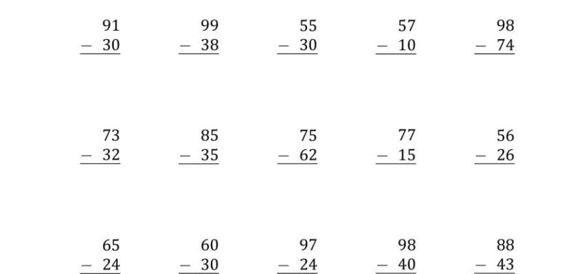 Worksheet Ideas Subtracting with Regrouping Worksheet Pdf