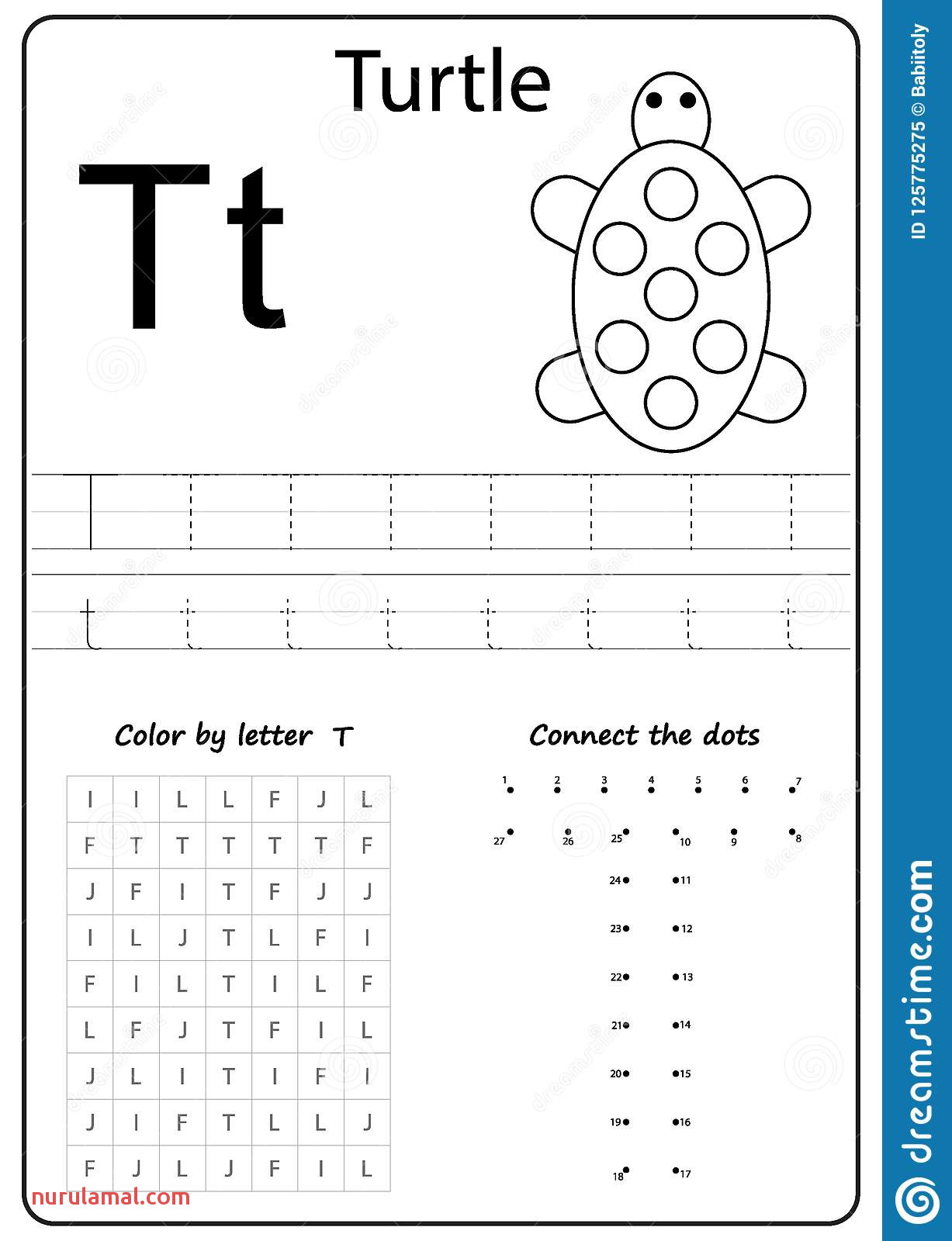 Writing Letter T Worksheet Z Alphabet Az Worksheets for