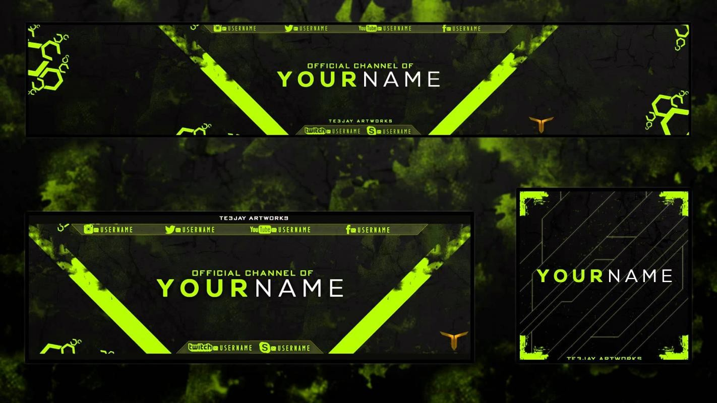 Youtube Banner Template Size