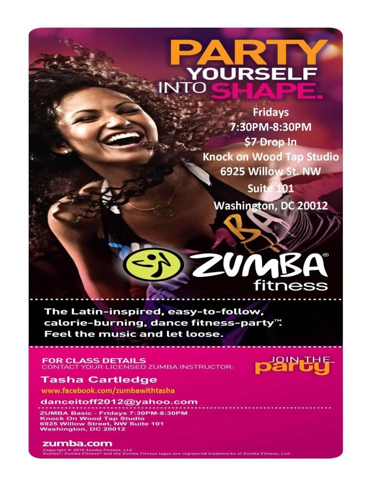 Zumba Flyer Template Image Search Results Picture To Pin